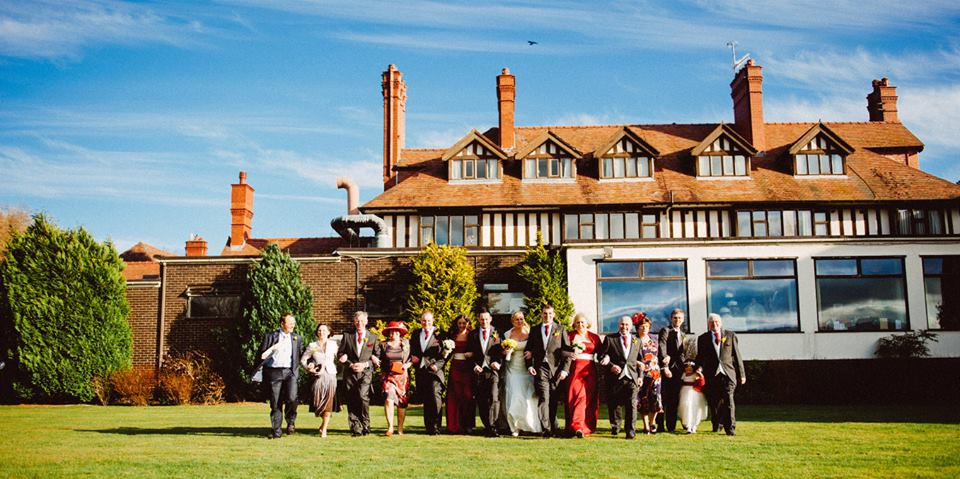 Bryn howel hotel wedding